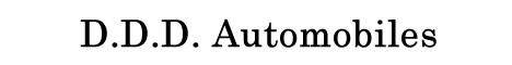 D.D.D. Automobiles
