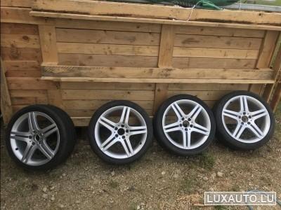 """Jantes Alu + pneus 18"""""""