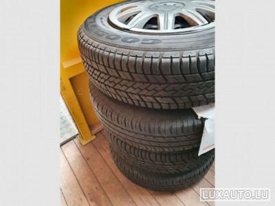 """Jantes Acier + pneus 14"""""""