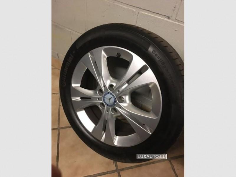 """Aluminiumsfelgen + Pneuen 17"""" Eté - Mercedes"""