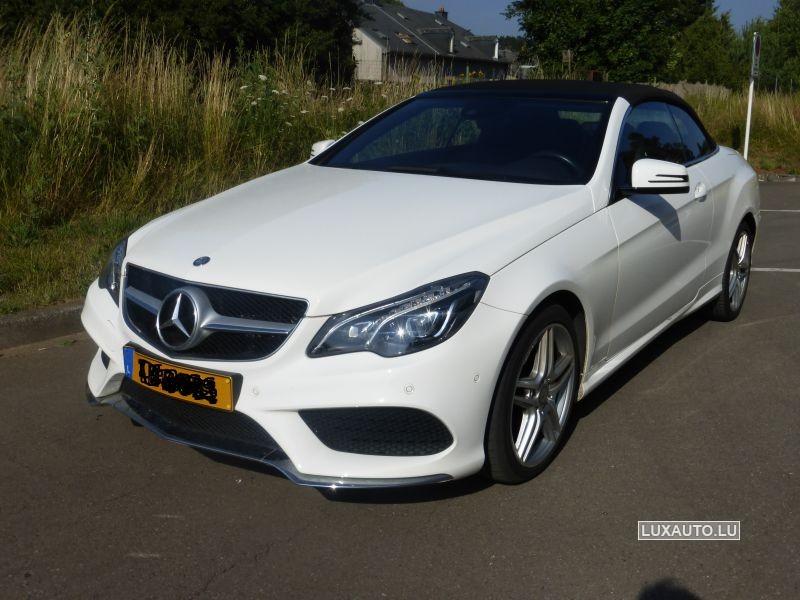 Mercedes E Cabriolet 220 Cdi Bluetec AMG Line 7G-Tronic
