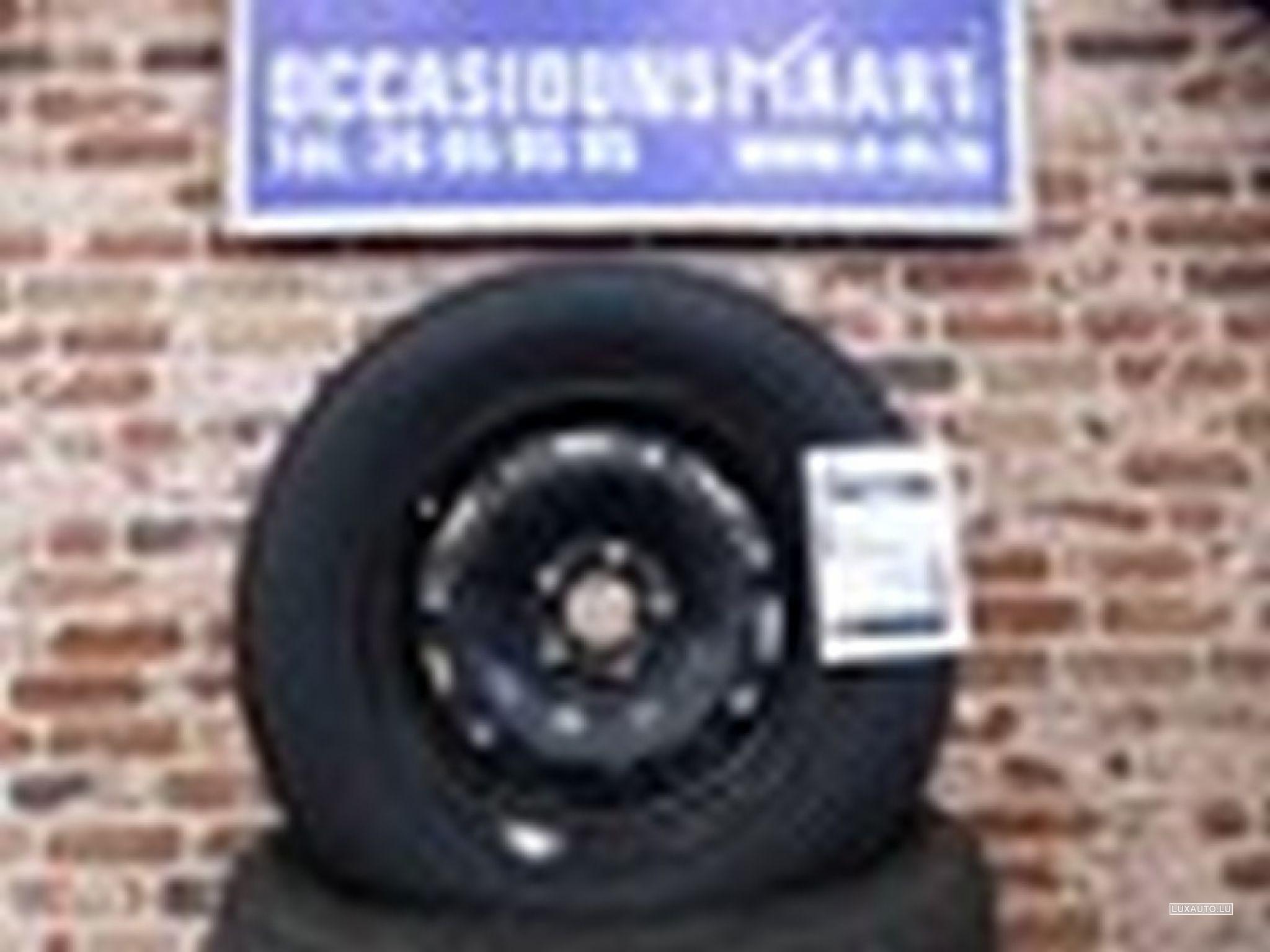 """Jantes Acier + pneus 14"""" Eté - VW Polo"""